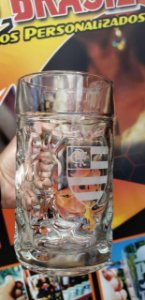 Caneca Cerveja Alemã Mass Krug 1 Litro (TRANSPARENTE)