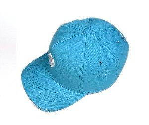 Boné snapback azul estilo new era