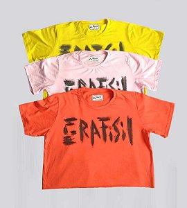 Cropped de t-shirt