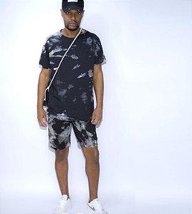 Conjunto masculino short camiseta dye