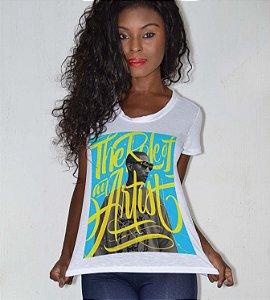T-shirt feminina pharrell williams