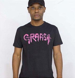 Camiseta logo pintado