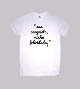 camiseta com frase