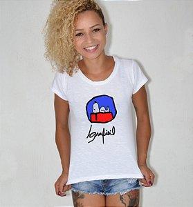 T-shirt feminina snoopy