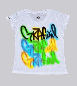 T-shirt feminina assinatura