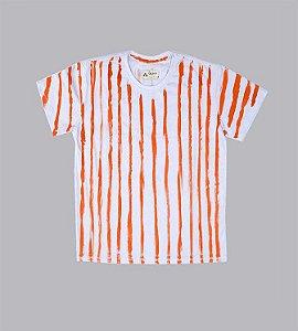 Camiseta listrada caramelo