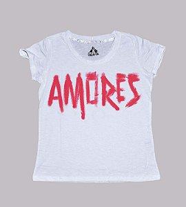 T-shirt palavra amores
