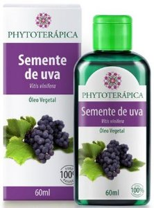 Óleo Vegetal de Semente de Uva|Phytoterápica 60ml