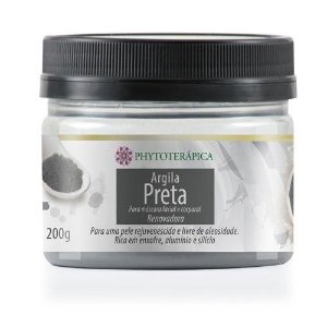 Argila Preta|Phytoterápica 200g