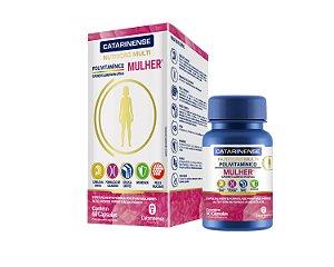 Polivitaminico Mulher Multi|Catarinense 60 Cáps