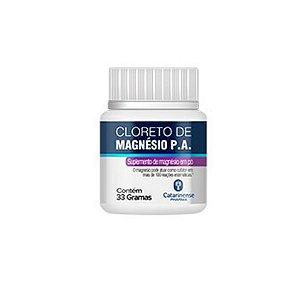 Cloreto de Magnésio P.A|Catarinense 33g