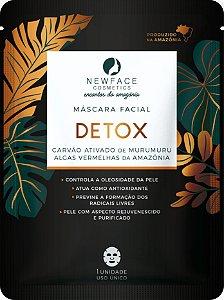 Máscara facial Detox l NewFace Encantos da Amazônia