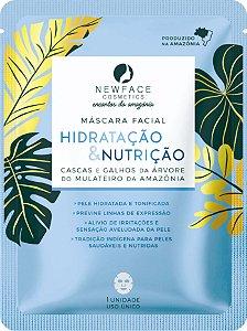 Máscara Facial Hidratação & Nutrição l NewFace Encantos da Amazônia