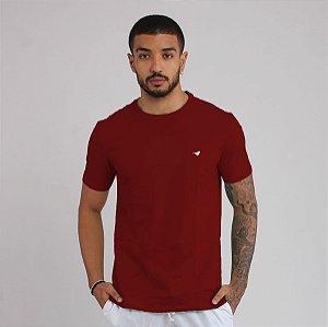 T-shirt Básica - Vinho