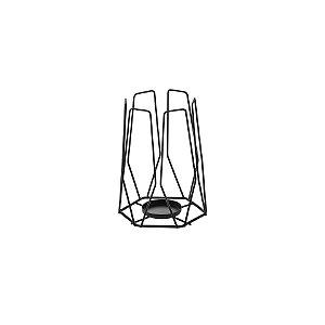 Schmitt Aramados - Lanterna Flame 14 x 18 cm - Grafite