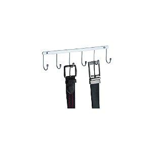 Schmitt Aramados - Porta Cintos Liberty 7 x 30 cm - Cromado