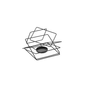 Schmitt Aramados - Lanterna Quadrus 16 x 14 cm - Grafite
