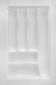 MoldPlast - Organizador de Gaveta 32,2 x 48 cm Branco 2,0MM - OG-95