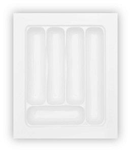 MoldPlast - Organizador de Gaveta 32,5 x 39 cm Branco 2,0mm - OG-69