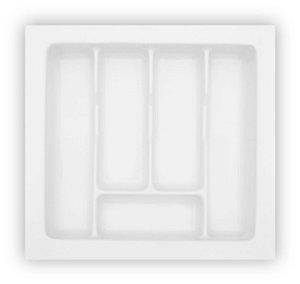 MoldPlast - Organizador de Gaveta 45,6 x 43,4 cm Branco 2,0mm - OG-78