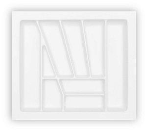 MoldPlast - Organizador de Gaveta 56,7 x 50,2 cm Branco 2,0mm - OG-10