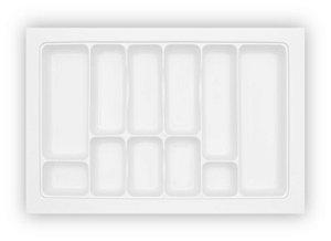 MoldPlast - Organizador de Gaveta 75,5 x 49,5 cm Branco 2,0mm - OG-43
