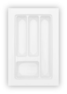 MoldPlast - Organizador de Gaveta 31,2 x 48 cm Branco 2,0mm - OG-11