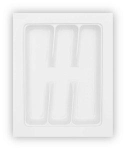 MoldPlast - Organizador de Gaveta 35,2 x 44,5 cm Branco 2,0mm - OG-67