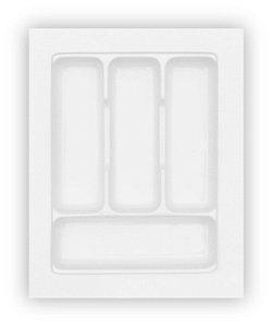 MoldPlast - Organizador de Gaveta 37 x 46,7 cm Branco 2,0mm - OG-06
