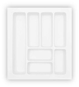 MoldPlast - Organizador de Gaveta 47,9 x 54 cm Branco 2,0mm - OG-56
