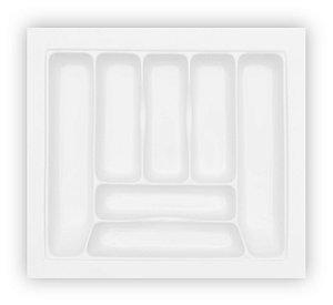 MoldPlast - Organizador de Gaveta 55,5 x 49,5 cm Branco 2,0mm - OG-40