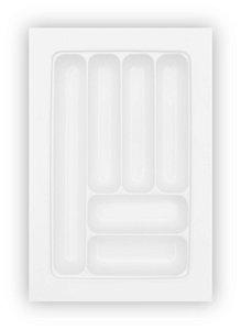 MoldPlast - Organizador de Gaveta 57,2 x 44 cm Branco 2,0mm - OG-71