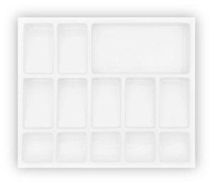 MoldPlast - Organizador de Notas 49 x 42 cm Branco 2,0mm - ON-05