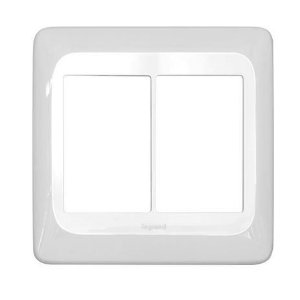 Legrand - Placa 3+3 Postos Juntos 4x4 - PIAL PoP