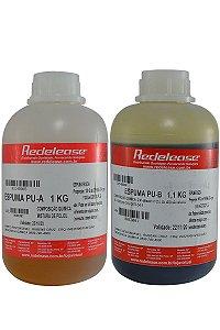 Redelease - Espuma de Poliuretano A + B Expansiva (2,1kg)