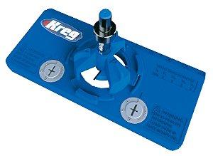 Kreg Concealed Hinge Jig| Gabarito p/ Furação de Dobradiça Caneco com Broca de 35mm