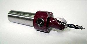 Amana Tool - Escareador Chanfrado - Broca Cônica 12 X 5 mm - Haste 9,5mm [FR356]