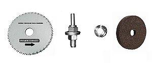 Kerbus - (Kit) Acessórios para Suporte Furadeira 3x1 - c/ 4 peças (RSF1A)