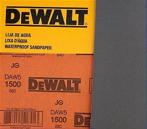 DeWalt - Lixa D'Água FINA Carbeto de Silício G 1500 230x280mm