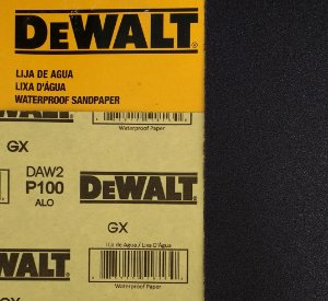 DeWalt - Lixa Agua Oxido de Aluminio G 100 230x280mm