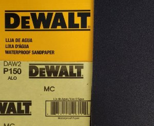 DeWalt - Lixa Agua Oxido de Aluminio G 150 230x280mm