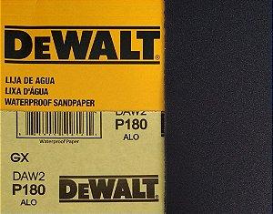 DeWalt - Lixa Agua Oxido de Aluminio G 180 230x280mm
