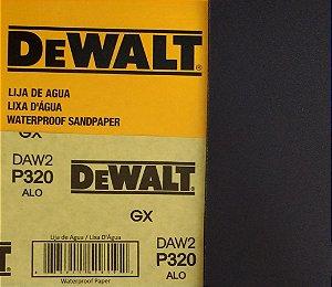 DeWalt - Lixa Agua Oxido de Aluminio G 320 230x280mm