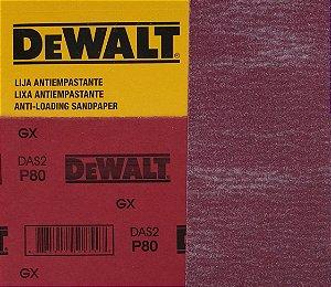 DeWalt - Lixa Seco Estearato G  80  230x280mm