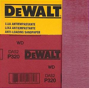 DeWalt - Lixa Seco Estearato G 320  230x280mm
