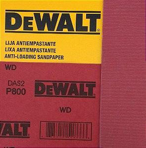 DeWalt - Lixa Seco Estearato G 800  230x280mm