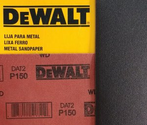 DeWalt - Lixa Ferro G 150 230x280mm