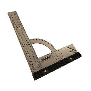 Milescraft - Esquadro Universal - 30 cm - Framing Square 300 mm (Metric) 8454