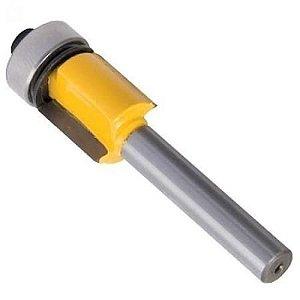 VONDER - Fresa com dentes de metal duro, reta, para acabamento com rolamento, 13 mm