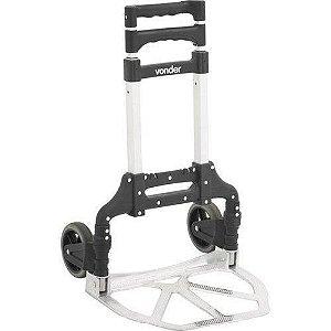 VONDER - Carrinho dobrável de Alumínio, 60 kg
